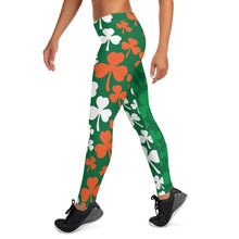 Load image into Gallery viewer, Irish Shamrock Leggings