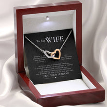 Load image into Gallery viewer, Wife Message Card Jewelry