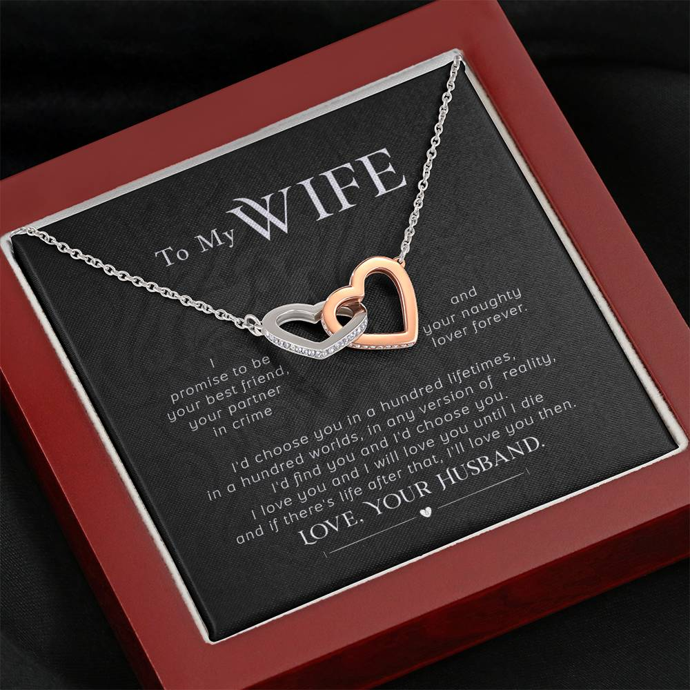 Wife Message Card Jewelry