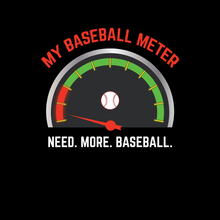 Load image into Gallery viewer, Baseball Meter T Shirt