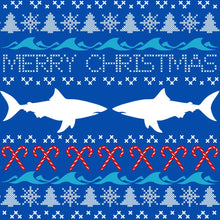 Load image into Gallery viewer, Shark Ugly Sweater Sweatshirt