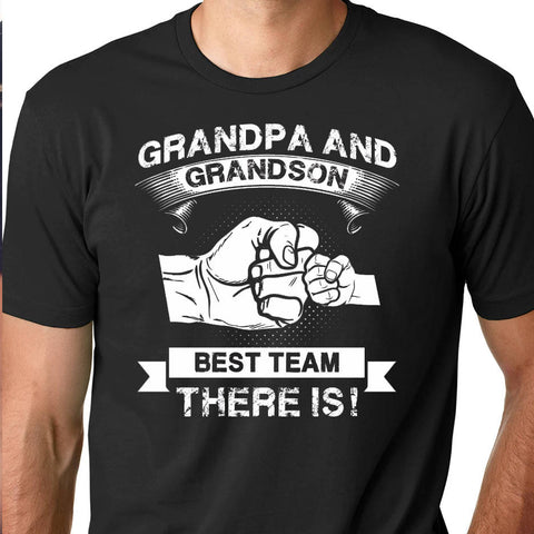 Grandpa and Grandson - New Grandfather shirt