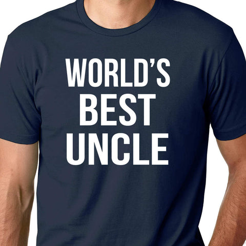 World's Best Uncle - Greatest Uncle shirt