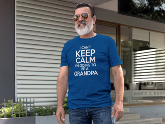 I Can't Keep Calm Going to be a Grandpa - New Grandpa shirt