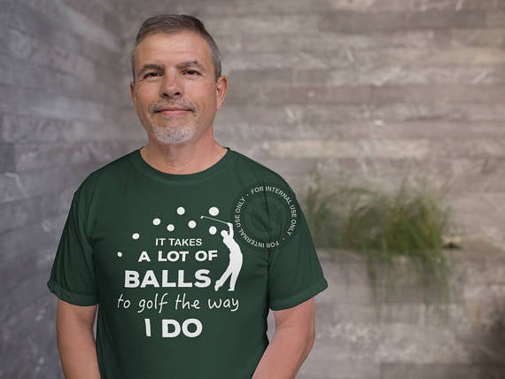 Golf Gifts -Funny Golf Shirt