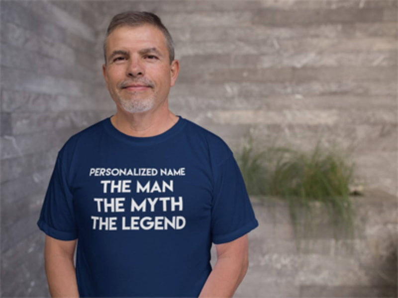 Personalized Man Myth Legend Shirt - Shirt for Dad