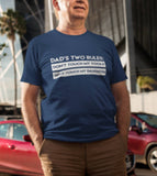 Dad With Daughters Shirt - Dad Rules Tshirt