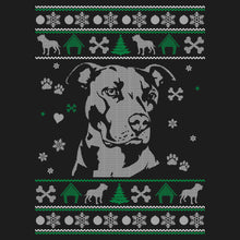 Load image into Gallery viewer, Pitbull Lover Ugly Sweater Sweatshirt
