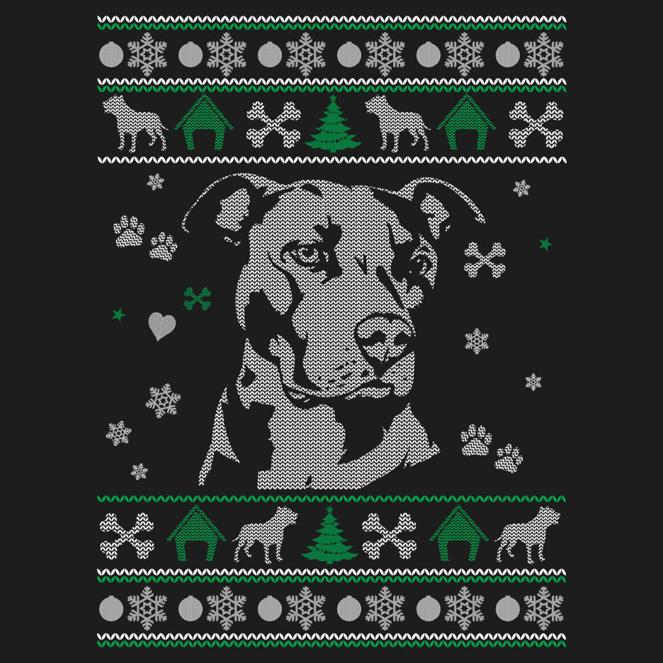 Pitbull Lover Ugly Sweater Sweatshirt