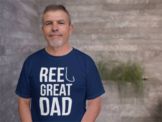 Reel Great Dad -Fishing Shirt