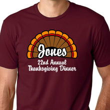 Load image into Gallery viewer, Family Reunion Thanksgiving T Shirt
