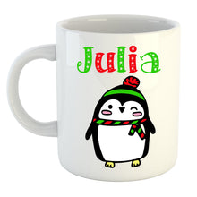 Load image into Gallery viewer, Personalized Penguin Mug