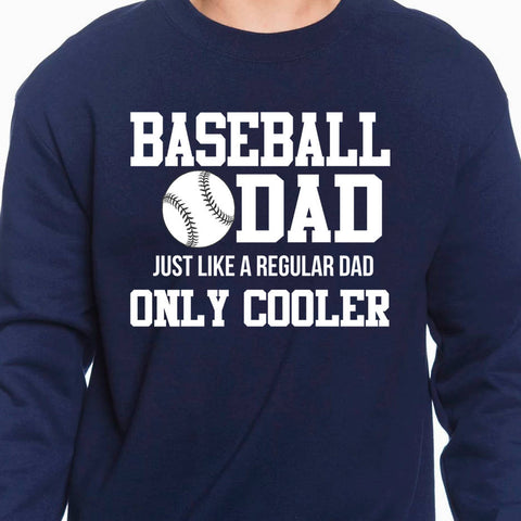 Baseball Dad - Dad Sweatshirt