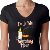Funny Witch Shirt-Witching Hour Shirt