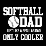 Softball Dad T Shirt