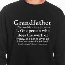 Load image into Gallery viewer, Grandfather Definition Sweatshirt