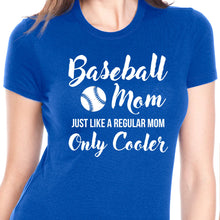 Load image into Gallery viewer, Baseball Mom T Shirt