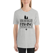 Load image into Gallery viewer, Father Daughter Fishing T Shirt