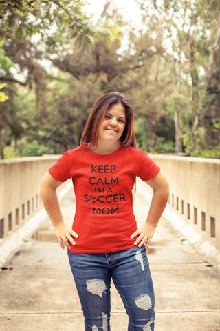 Keep Calm I'm a Soccer Mom-Soccer Mom Shirt