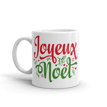 Load image into Gallery viewer, French Merry Christmas Mug Joyeux Noel Mug