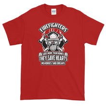 Load image into Gallery viewer, Firefighters Save Lives T Shirt