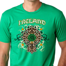 Load image into Gallery viewer, Irish Celtic Cross T Shirt