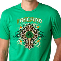 Irish Celtic Cross Shirt - Ireland T Shirt