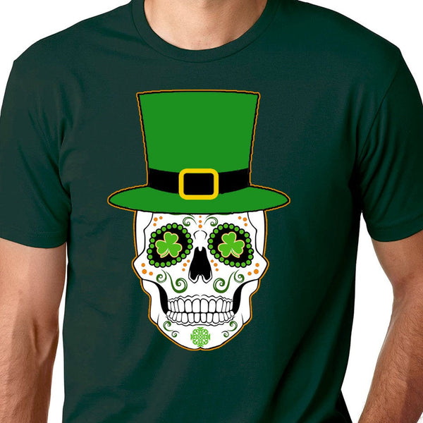 Irish Sugar Skull Shirt