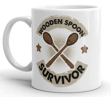Load image into Gallery viewer, Wooden Spoon Survivor Mug