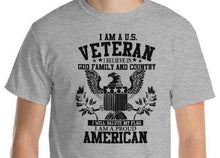 Load image into Gallery viewer, Veteran T Shirt