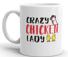 Load image into Gallery viewer, Crazy Chicken Lady Mug