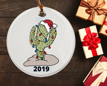 Load image into Gallery viewer, Christmas Cactus Gifts - Cactus Ornament