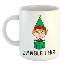 Load image into Gallery viewer, Elf Jangle This Finger Mug