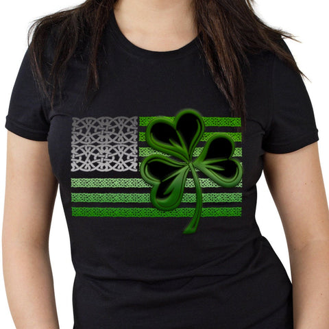 Shamrock Flag T Shirt