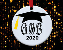 Load image into Gallery viewer, Graduation Ornament - Personalized Ornament - Keepsake Ornament