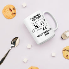 Load image into Gallery viewer, I Survived Toilet Paper Crisis Finger Mug