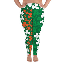 Load image into Gallery viewer, Shamrock Leggings Plus Size