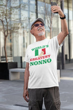 Load image into Gallery viewer, World's Greatest Nonno T Shirt