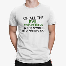 Load image into Gallery viewer, Evil Stepfather T shirt