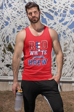 Load image into Gallery viewer, Red White and Brew Tank Top