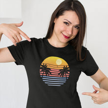 Load image into Gallery viewer, Retro Sunset T Shirt