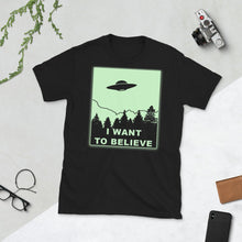 Load image into Gallery viewer, I Want to Believe T Shirt