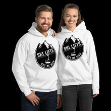 Load image into Gallery viewer, Ski Lifts Get Me High Hoodie
