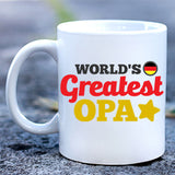 World's Greatest Opa Mug
