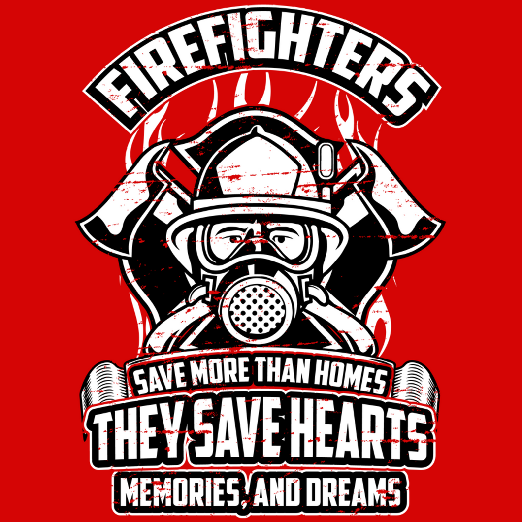 Firefighters Save Lives T Shirt