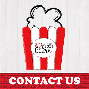 Contact i heart kettle corn for your next event