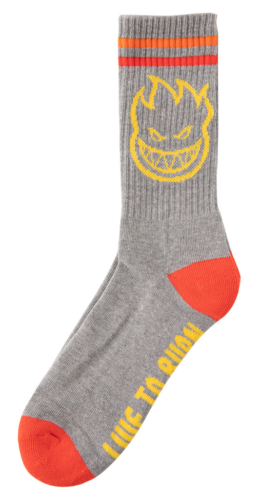 Spitfire Bighead Sock Grey, Socks, Spitfire Wheels, My Favorite Things