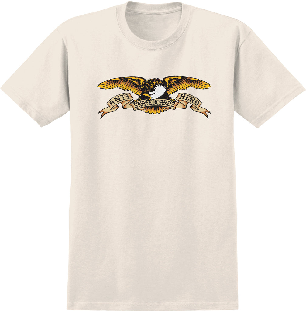 Antihero Eagle S/S T-Shirt Cream, T-Shirts, Antihero Skateboards, My Favorite Things