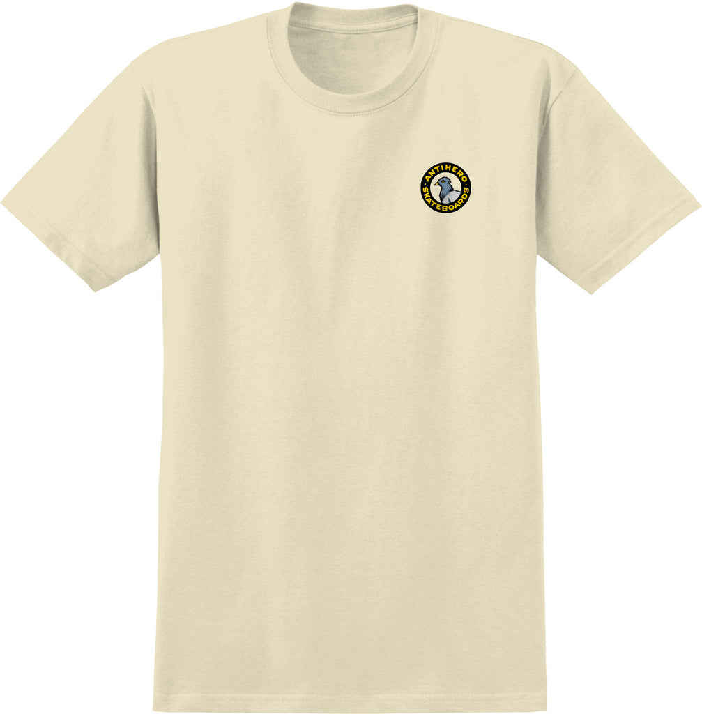 Antihero - Pigeon Round T-Shirt Cream