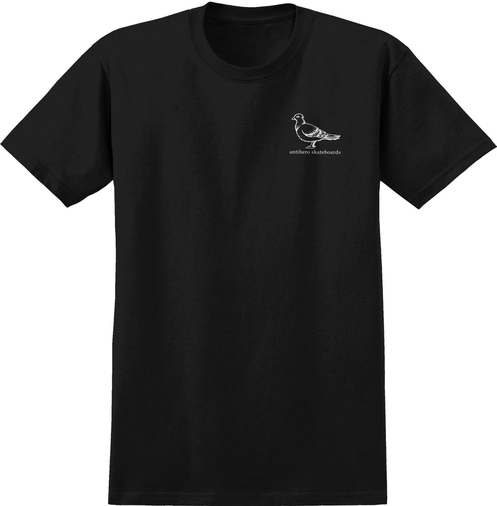 Antihero - Basic Pigeon T-Shirt Black/White